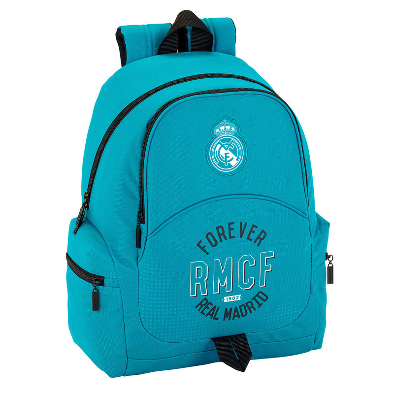 Mochila Real Madrid Adaptable 32x42x17cm.