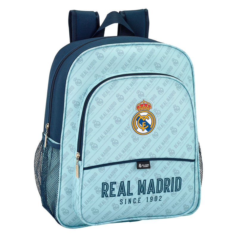 Mochila Real Madrid Junior Adaptable 32x38x12cm.