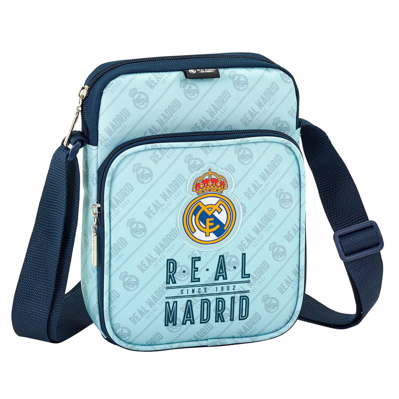 Bandolera Real Madrid 16x22x6cm.