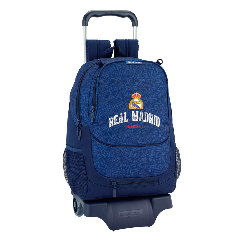 Trolley Real Madrid Basket 33x43x15cm.