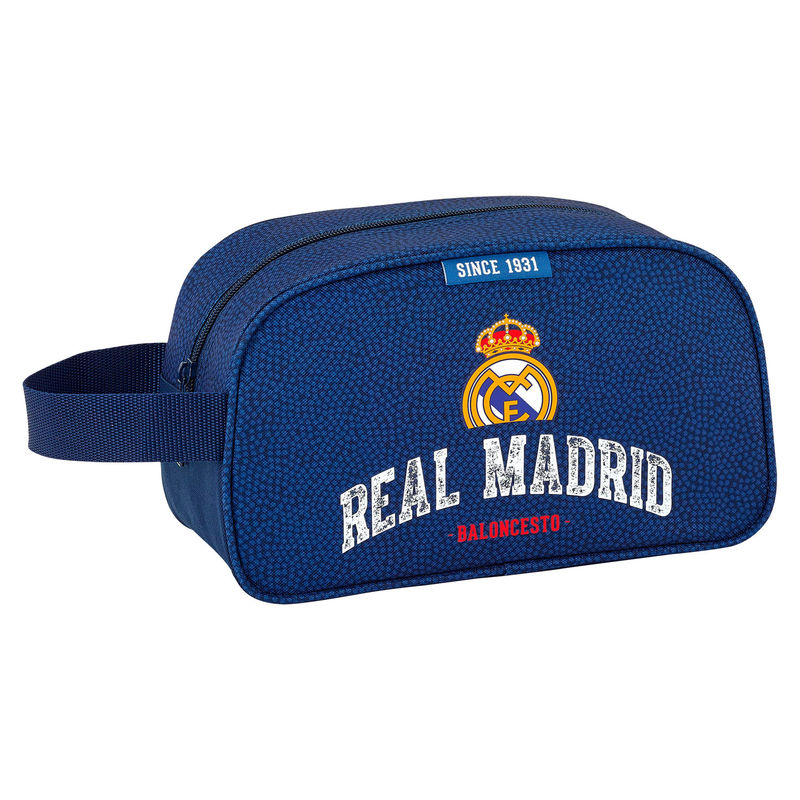 Neceser Real Madrid Basket Adaptable 26x15x12cm.