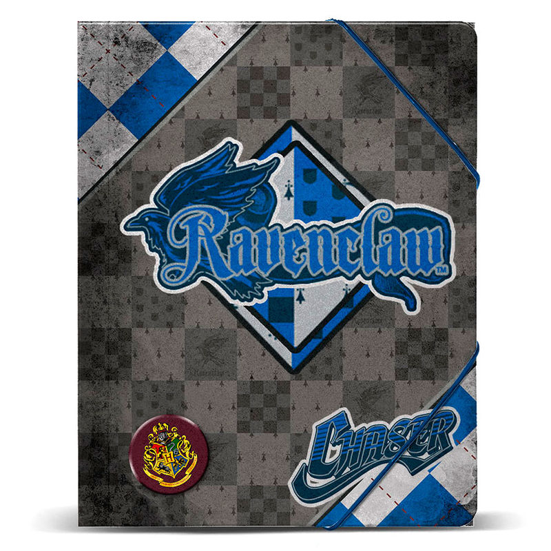 Carpeta Harry Potter Quidditch Ravenclaw A4 Gomas 32x27x1cm.