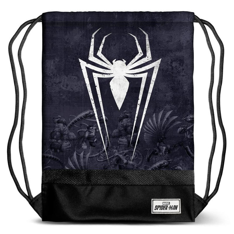 Saco Spiderman Marvel Poison 48x35x1cm.