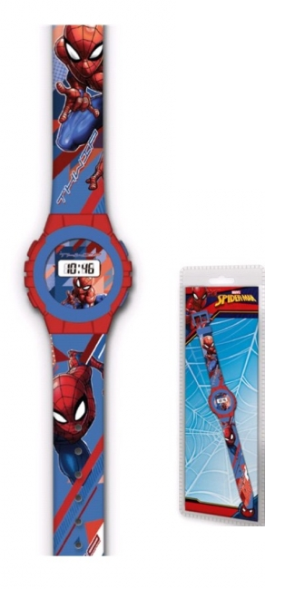 Reloj Digital Spiderman Marvel