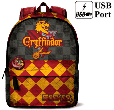 Mochila Harry Potter Quidditch Gryffindor 42x30x20cm.